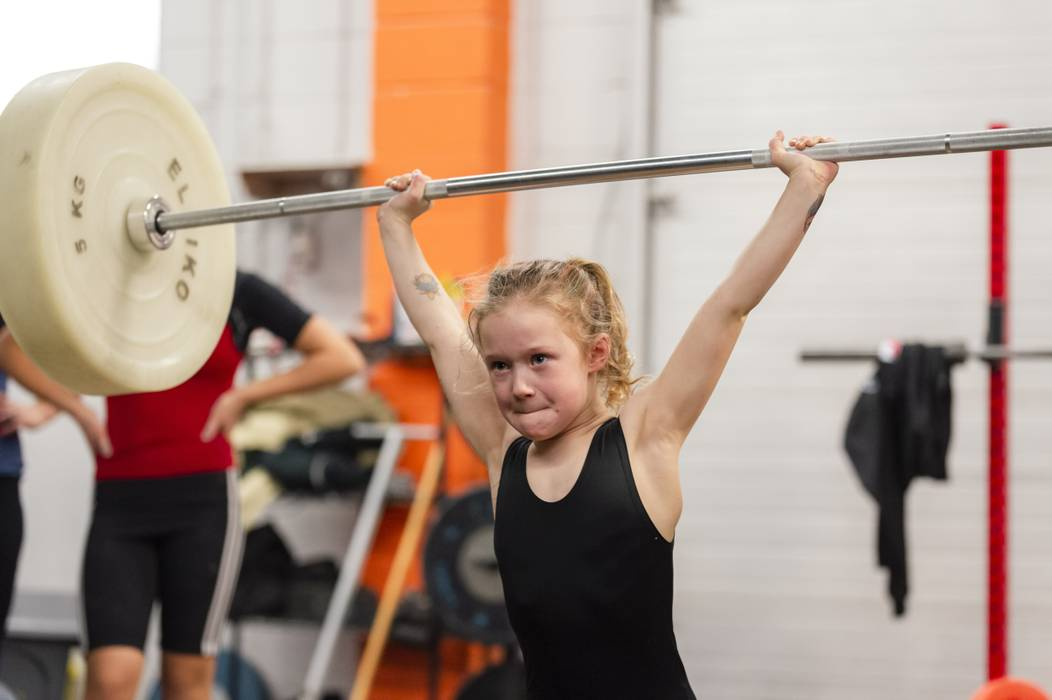 Strongest Seven-Year-Old Girl In The World' Can Deadlift 80kg - LADbible